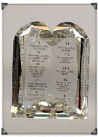 Ten Commandments Diamond