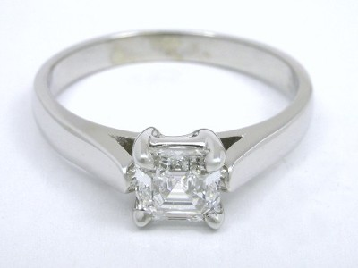 Canadian Product Asscher Cut Diamond