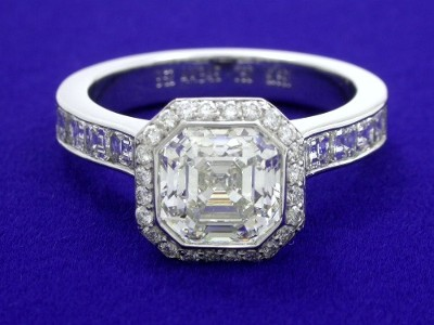 Cut-Cornered Square Emerald Cut Diamond