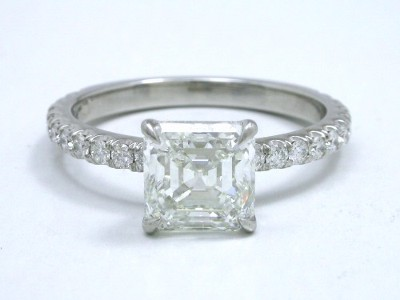 Square Emerald Cut Diamond