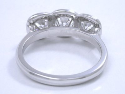 Cushion Cut Diamond Ring: 0.49 carat with 1.01 ratio, 0.84 tcw cushions and 0.20 tcw Pave mounting