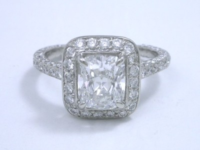 Cushion Cut Diamond With 1.17 Length-To-Width Ratio