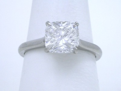 1.75-carat Cushion Modified Brilliant cut diamond
