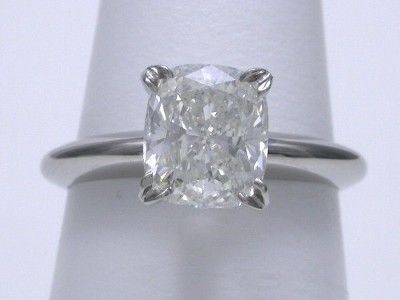 1.83 carat cushion modified brilliant diamond