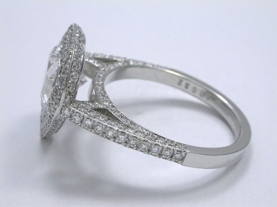 Heart Cut Diamond Engagement Ring