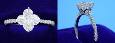 Branded Cut Diamond Rings