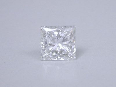 1.15-carat princess cut diamond