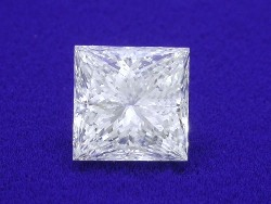 2.01 carat Princess Cut loose diamond graded I color and VS2 clarity