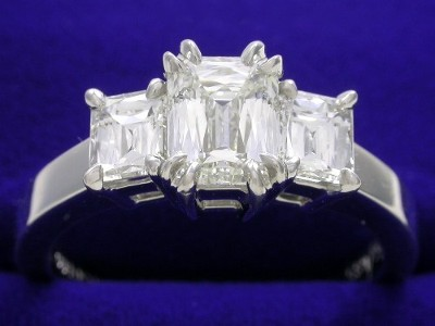 PrinceCut Diamond Ring: 1.06 carat with 1.29 ratio and 0.79 tcw PrinceCut Diamonds