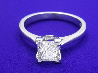 Princess Ring 0.90 ct basket-3