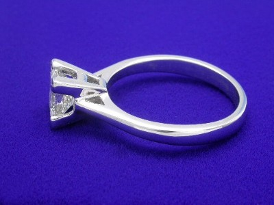 Princess Ring 0.90 ct basket-4