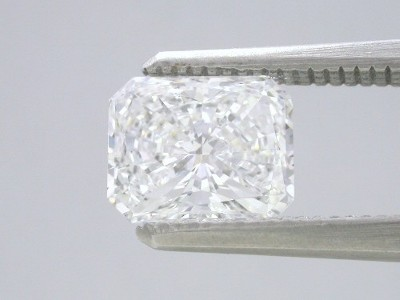 1.38-carat Radiant Brilliant cut loose diamond with F color and VS2 clarity