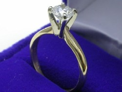 Round 0.70 carat, GIA cert, H color, SI1 clarity