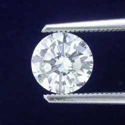 0.86 carat Round Brilliant Cut loose diamond with K/L color, VS1 clarity