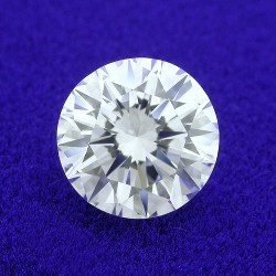 0.90 carat Round Brilliant Cut loose diamond with G color and VS1 clarity