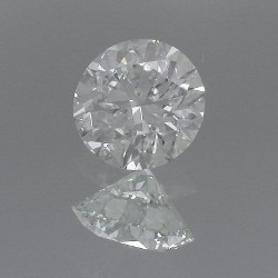 1.67 carat Round Brilliant Cut loose diamond graded J color and VS2 clarity