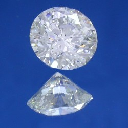 1.70 carat Round Brilliant cut diamond AGS graded G color and VS1 clarity also with GIA Diamond Grading Report