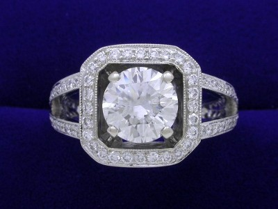 1.78 carat Round brilliant cut diamond