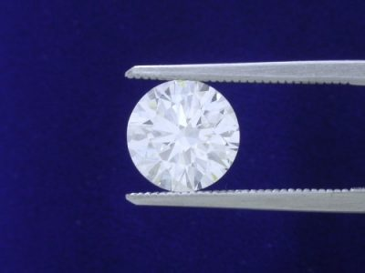 2.66-carat round brilliant cut diamond with GIA graded I color and SI1 clarity