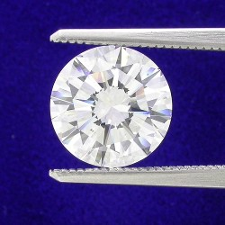3.03 carat Round Brilliant Cut loose diamond with H color and SI1 clarity