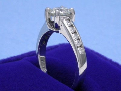 Round Ring 0.79 ct Trellis 0.30 tcw-2