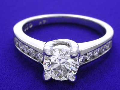 Round Ring 0.79 ct Trellis 0.30 tcw-3