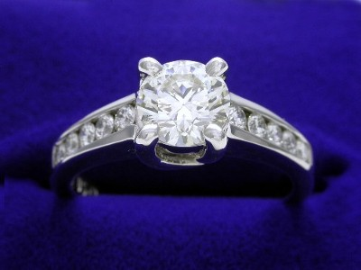 Round Ring 0.79 ct Trellis 0.30 tcw-5