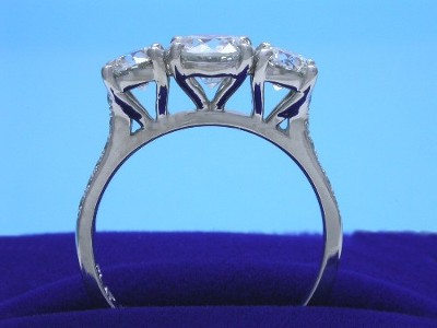 Round Ring 1.00 ct 0.80 RB 0.14 pave-4