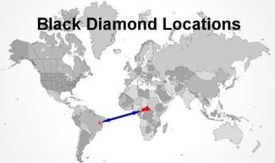 Black Diamond Location Map
