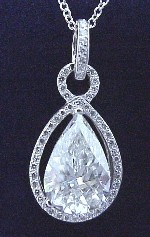 Pear Pendant 1.55 ratio