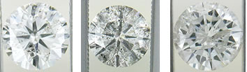 Round Diamond Inclusions