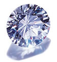 Cubic Zirconia Simulated Round Diamonds