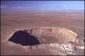 Moissanite Meteor Crater