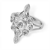 Right hand diamond ring